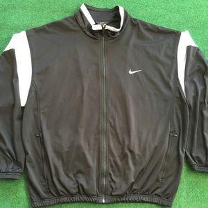Vtg 90's Nike Track Jacket Embroidered Nike Swoosh